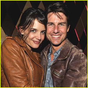Tom Cruise & Katie Holmes: Superbowl Couple