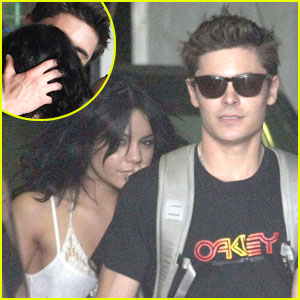 Vanessa Hudgens & Zac Efron: Kissing Cute