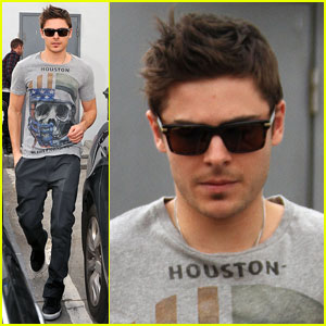 Zac Efron is Houston Hot