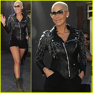 Amber Rose: Walking into Spiderwebs