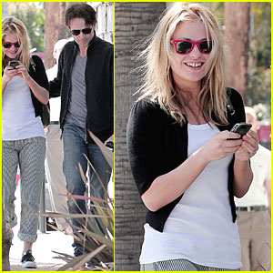 Anna Paquin: Lunch at Lemonade with Stephen Moyer!