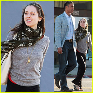 Eliza Dushku & Rick Fox are a Dinner Duo
