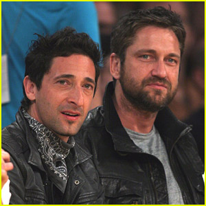 Gerard Butler & Adrien Brody: Let's Go Lakers
