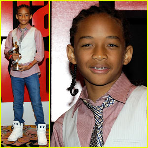 Jaden Smith Breaks Through At Showest