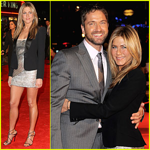 Jennifer Aniston & Gerard Butler: UK Bounty Hunter Premiere!