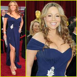 Mariah Carey & Nick Cannon -- Oscars 2010 Red Carpet
