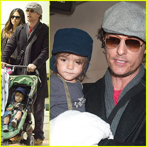 Matthew McConaughey's Family Fun
