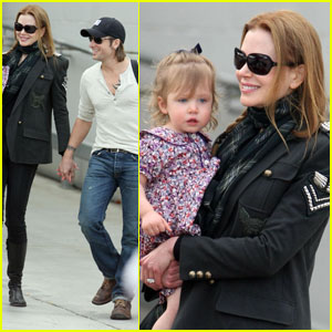 Nicole Kidman & Sunday Rose: Family Fun!