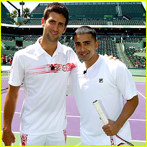 Novak Djokovic &#038; Jay Sean: Glam Set Match!