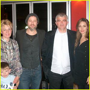 Brad Pitt & Angelina Jolie: Gorazde Dinner Date