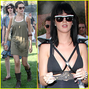 Camilla Belle & Katy Perry: Coachella Kick-Off