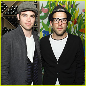 Chris Pine & Zachary Quinto Believe In Monogamy