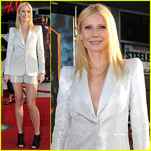Gwyneth Paltrow: Shorts Suit Sexy