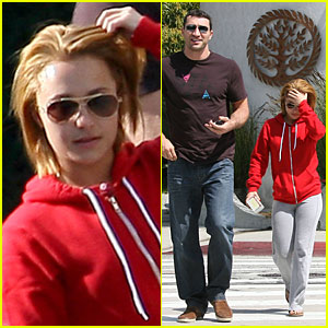 Hayden Panettiere & Wladimir Klitschko: Throat Coat Couple