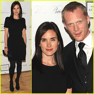 Jennifer Connelly & Paul Bettany: NY Academy Of Art