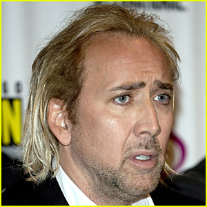 Nicolas Cage: Blonde Hair Moment