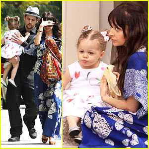 Nicole Richie: Easter Sunday Mass with Harlow!