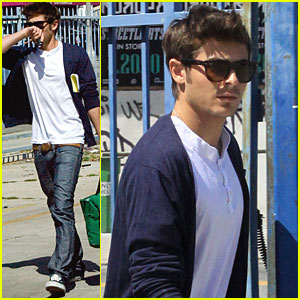 Zac Efron is a Duffel Dude