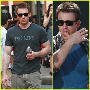 Chris Evans: Free Licks For All!