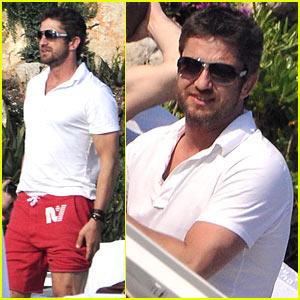 Gerard Butler: Pool Boy