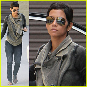 Halle Berry Gets Down And Dirty