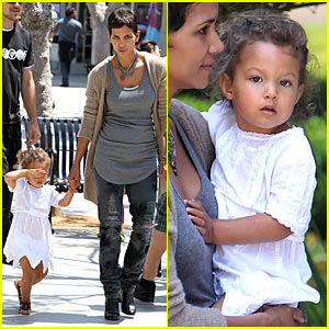 Halle Berry: Mother's Day with Nahla!