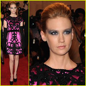 January Jones: MET Ball 2010