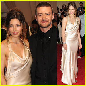 Jessica Biel: MET Ball 2010 with Justin
