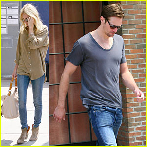 Kate Bosworth &#038; Alexander Skarsgard: Hotel Hook-Up