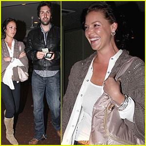 Katherine Heigl & TR Knight: Grey's Reunion!