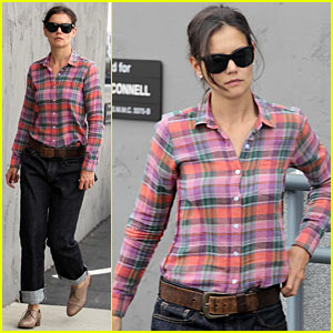 Katie Holmes: Soho House Dinner with Tom Cruise!