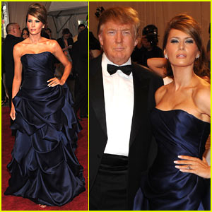 Melania Trump: MET Ball with
