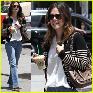 Rachel Bilson: Parking Ticket Trouble!