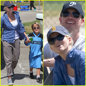 Reese Witherspoon & Jim Toth: Team Deacon!