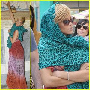 Rihanna: Jerusalem Jetsetter
