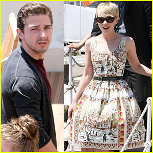 Shia LaBeouf: CANNES Arrival with Carey Mulligan!