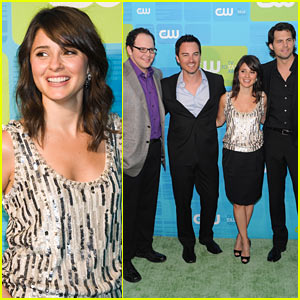 Shiri Appleby: CW Upfronts with the Boys!