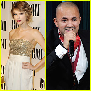 Taylor Swift & RedOne Honored at BMI Pop Awards