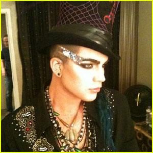 Adam Lambert: Half Shaved Head!