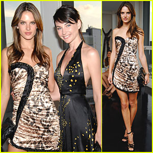 Alessandra Ambrosio: Fashion Targets Breast Cancer!