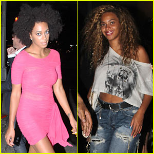 Beyonce: Avenue with Sister Solange!