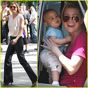 Ellen Pompeo: Golden Bridge Yoga Girl