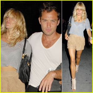Jude Law & Sienna Miller: Dead Weather Together