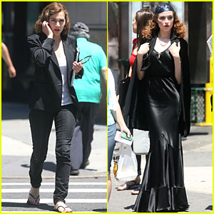 Evan Rachel Wood & Kate Winslet: 'Mildred' in Manhattan!