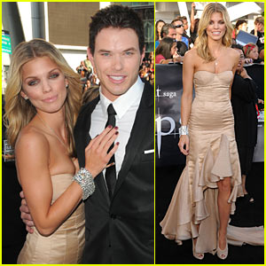 Kellan Lutz Premieres ECLIPSE with AnnaLynne McCord
