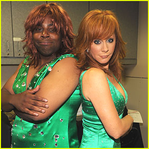 Reba McEntire &#038; Kenan Thompson: Same Dress!