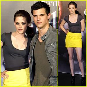Kristen Stewart & Taylor Lautner: Luna Park Pair