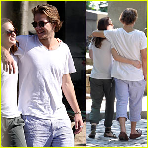 Leighton Meester & Luke Bracey: Paris Pair