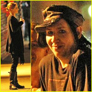 Marilyn Manson Cracks A Smile With Evan Rachel Wood