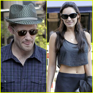 Matthew Morrison & Kelly Brook: World Cup Date